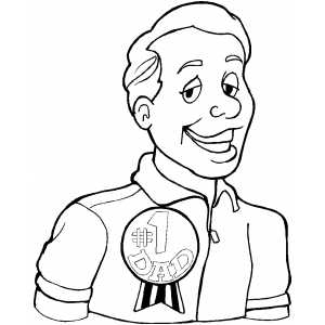 Coloring page medal img 18874 picture