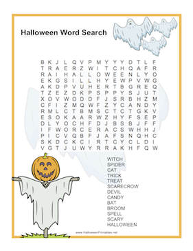 Halloween Printables at New Site