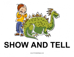 Show_and_Tell_Sign
