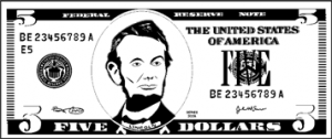 Paper_Five_Dollar_Colorable