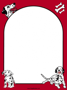 Dalmatian_Dog_Red_Border