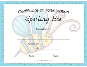 Spelling_Bee_Certificate