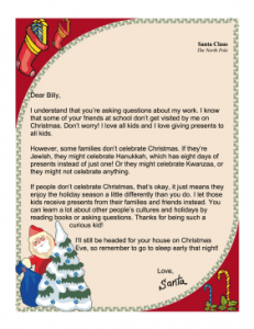 Letters From Santa And Other Christmas Printables