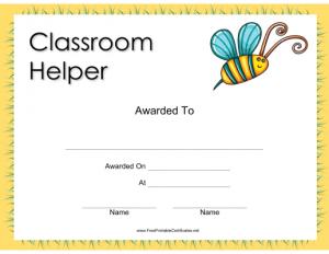 printable student awards
