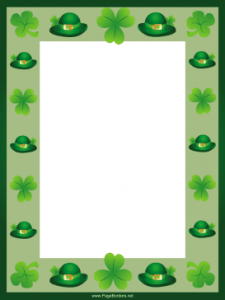 picture relating to Free Printable Clipart for St Patrick's Day known as St. Patricks Working day Printables Roundup Free of charge Printables