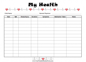 When it comes to health care, it's important to keep track of your ...