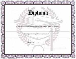 Graduation printables roundup for Printable home school diploma