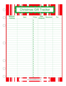 Christmas Planners and To-Do Lists