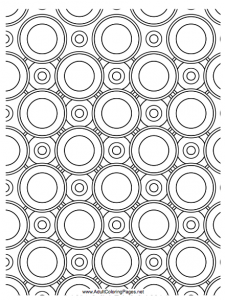 Free Patterned Coloring Pages For Grownups