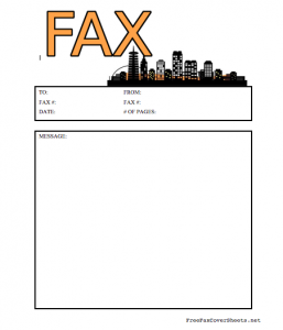 free fax cover sheets free printables