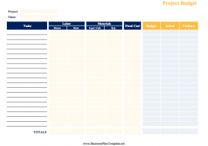 Free Business Plan Templates - Free printable business plan templates