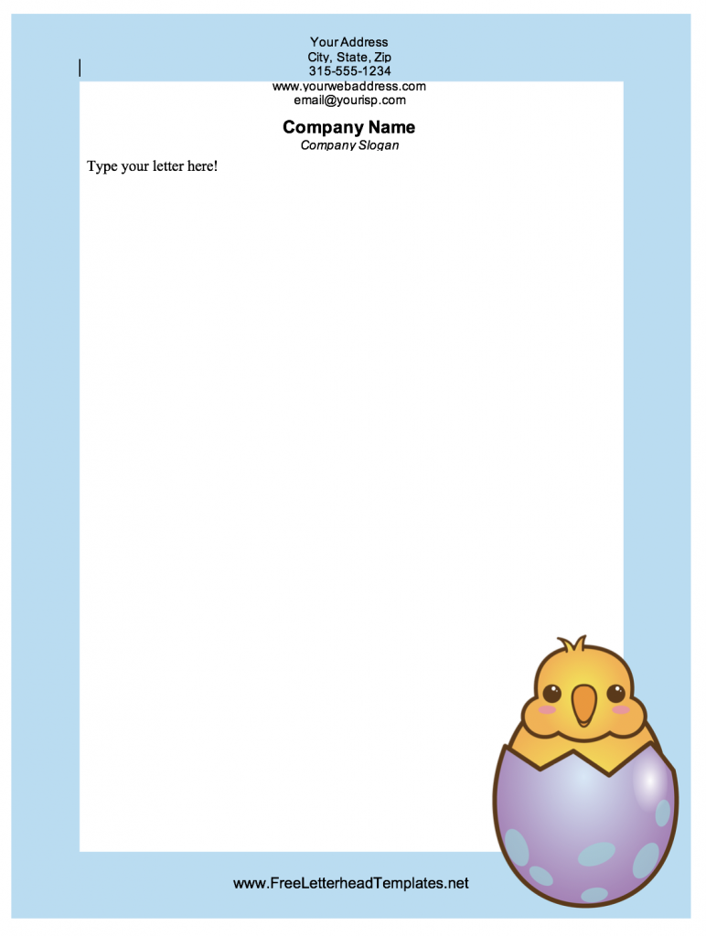 graphic regarding Easter Bunny Letterhead named Absolutely free Easter Printables Totally free Printables